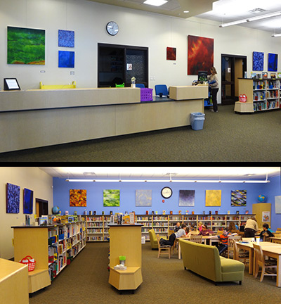 Pinedale Elementary School Library
