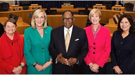 LA County Supervisors Photo