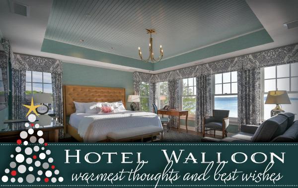 Happy Holidays from Hotel Walloon