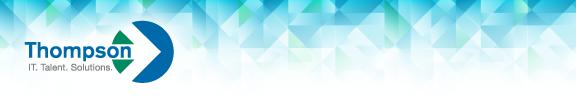 Thompson Technologies Newsletter Header