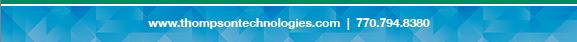 www.thompsontechnologies.com - 770.794.8380
