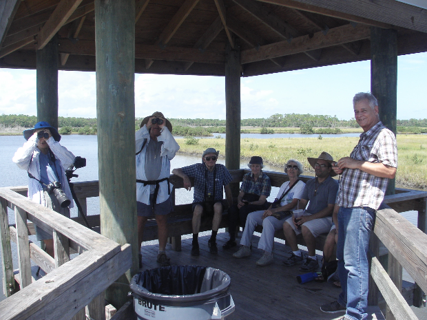 Group on the Dock_by_Pete.JPG