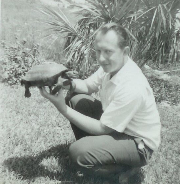 Young Bill with Gopher Tortoise.png