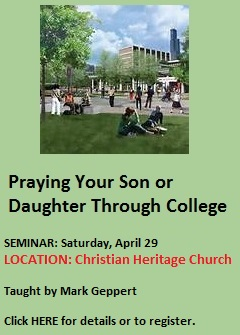 Pray-through-college-seminar April 29 2017