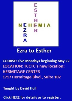 Ezra-to-Esther-course beginning May 22 2017