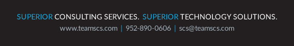 Superior Consulting Services footer