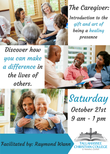 The Caregiver seminar taught by Raymond Wann Saturday October 21 2017