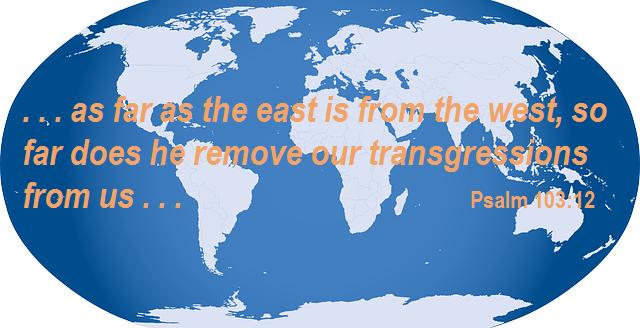 Psalm 103 verse 12