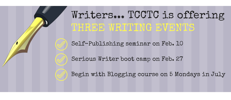 Writers 3 Events