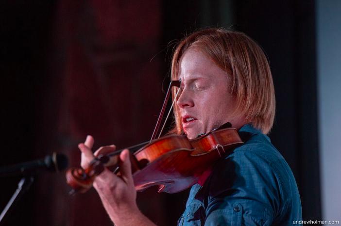 Tyler Carson Playing Violin