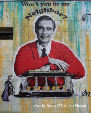 Mr. Rogers Credit: Sean O'Neil via Flicker