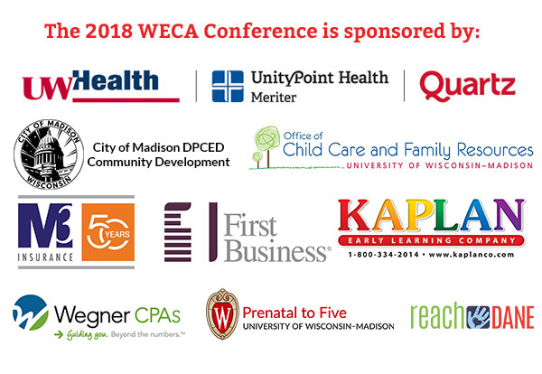The 2018 WECA Conference Sponsorship