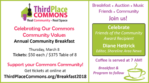2018 Community Breakfast Invitation