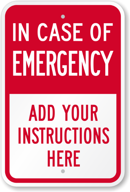 in-case-of-emergency-sign-k-3492.png