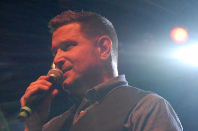 Ty Herndon at Hoedown 2017 - photo by Bill Weaver