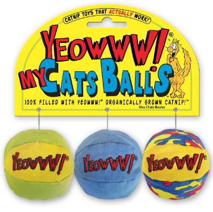 catnip cat ball toys