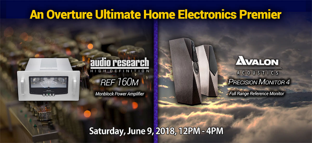 Please join us at overture on june 9th from noon to 4 pm for a special invitation to the premiere of the audio research ref160m and avalon acoustics precision monitor 4 stopboris Gallery