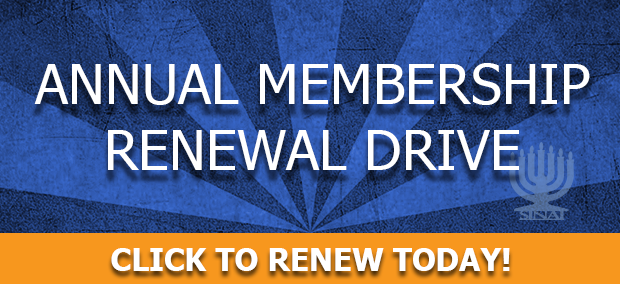 Annual Membership Renewal Drive for Temple Sinai. Click to renew today!