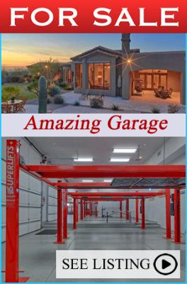 Scottsdale Featured Garage Home