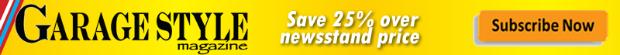 Save 25% on Garage Style Magazine