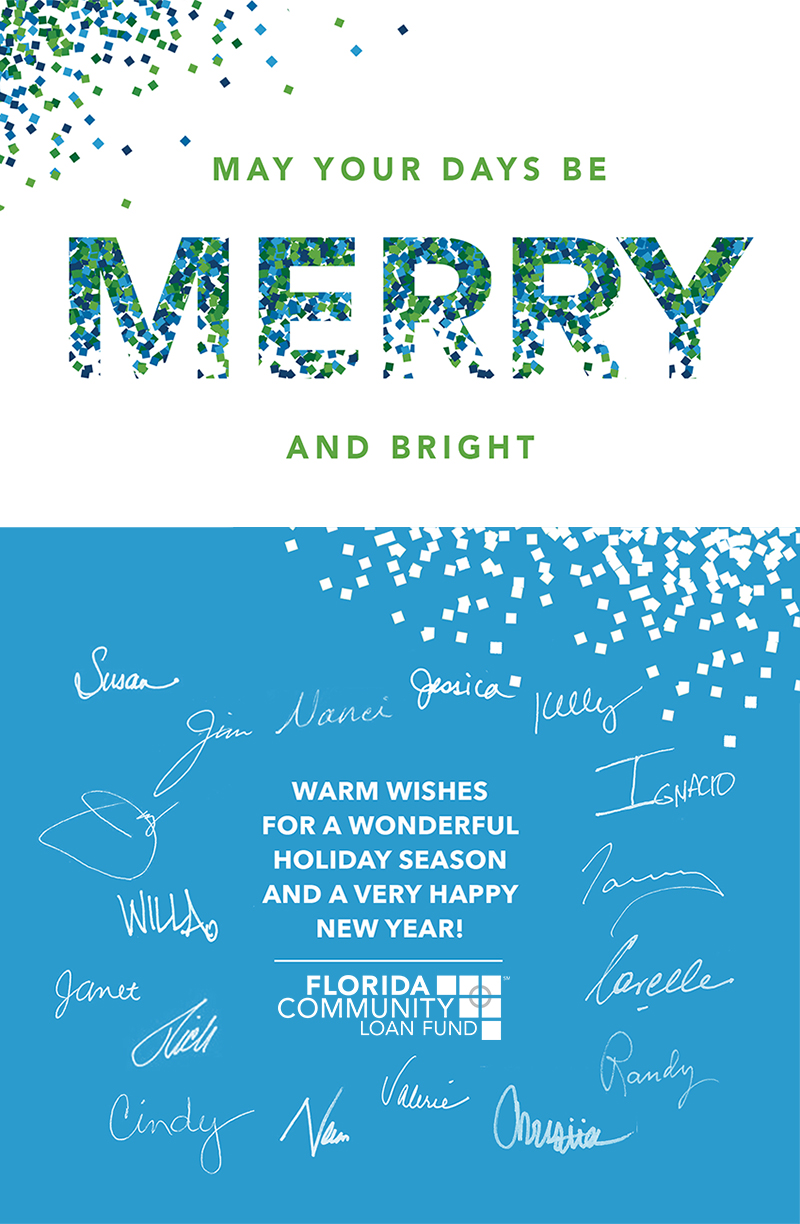 May Your Days Be Merry and Bright from FCLF
