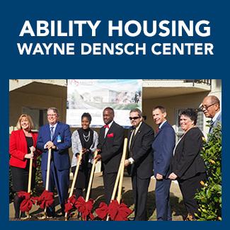 Wayne Densch Center by Ability Housing & FCLF