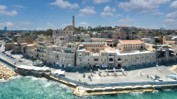 The shoreline of Jaffa   Photo Credit:  ,
