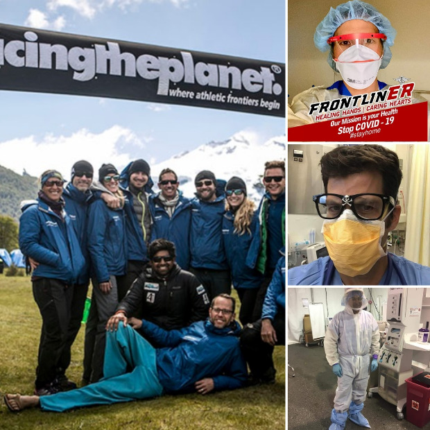 Some of the RacingThePlanet medical doctors